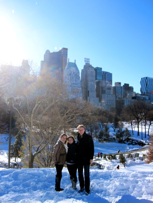 Though the snow was inconvenient, it did for sure make Central Park look amazing